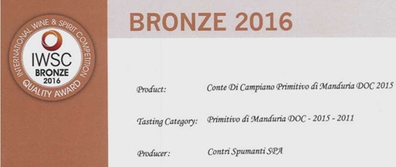 International wine & spirit Competition 2016